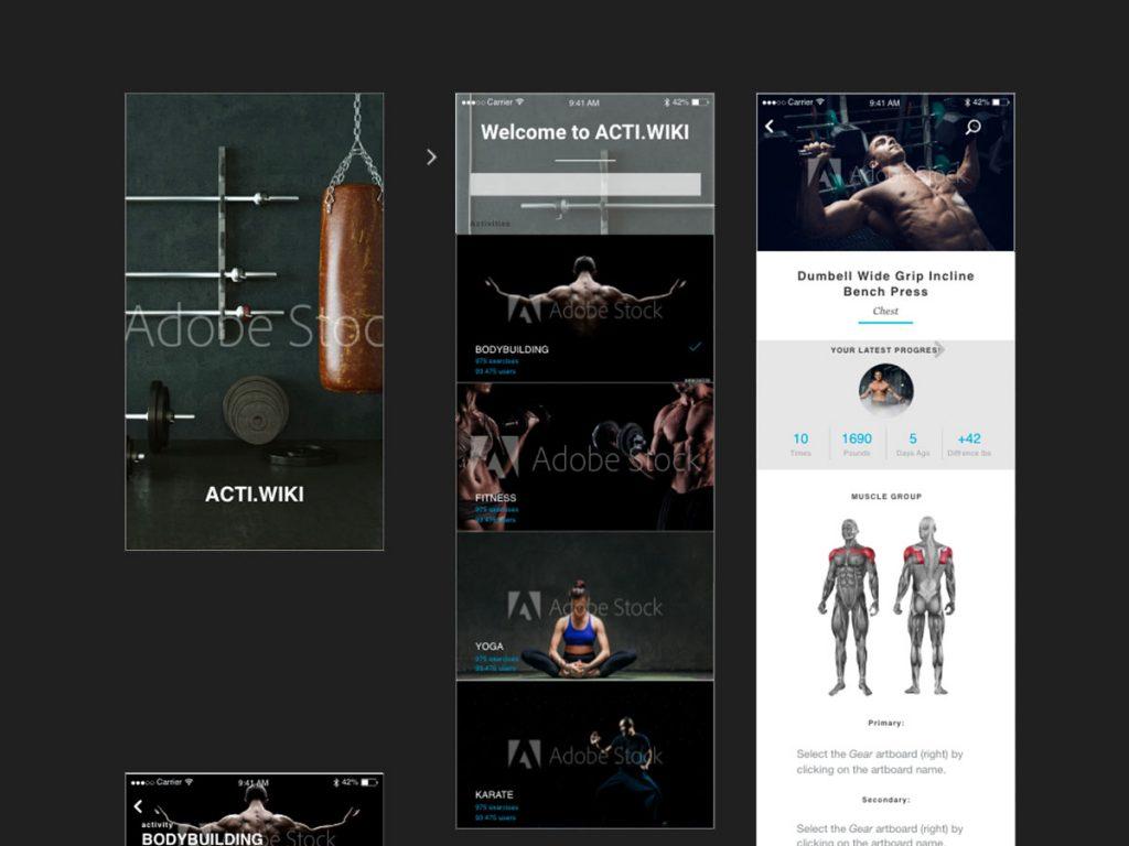 Sport App UX / UI Design