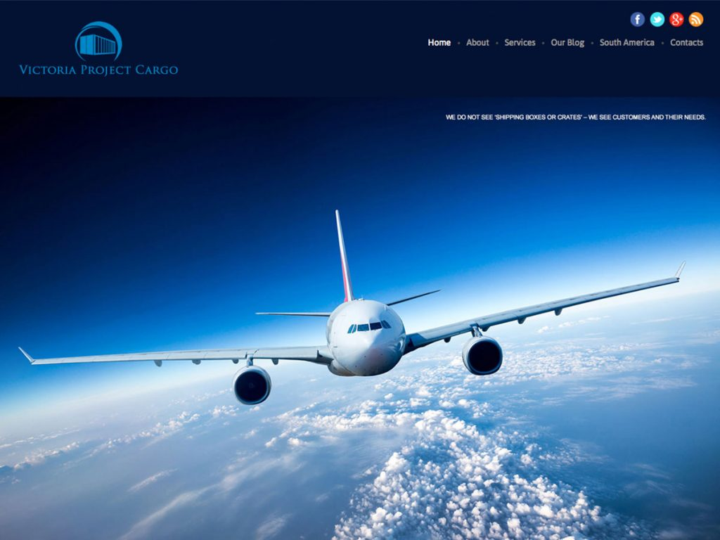 Web Development for a Logistics company